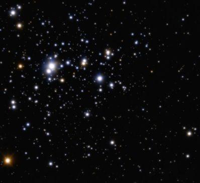 Imagem ampla do aglomerado Trumpler 14, feita com os novos instrumentos do VLT do ESO.
