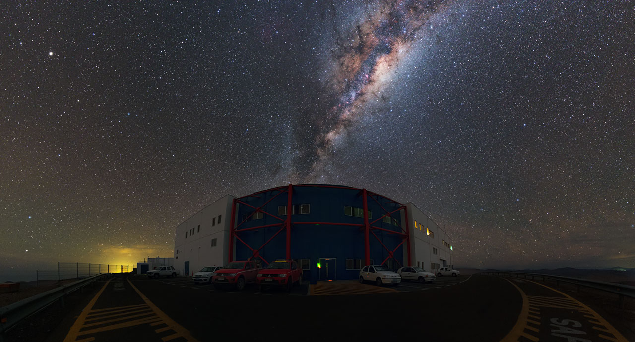 Rise of the Milky Way