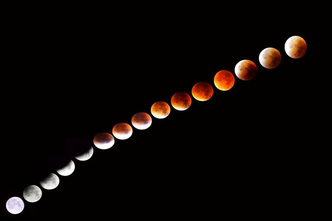 Eclipse total da Lua 28-09-2015 - Vitor Carvalho