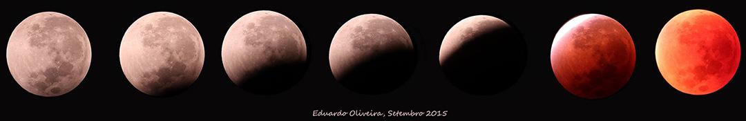 O Eclipse de ontem, visto de Diamantina, MG. - Eduardo Oliveira