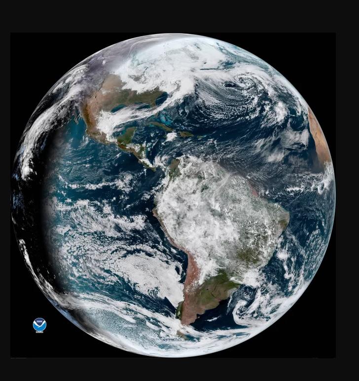 Dia Da Terra - Galeria de Imagens do Satélite GOES-16