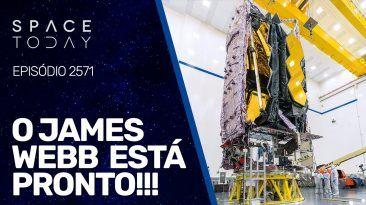 JMAES WEBB ESTÁ PRONTO!!!