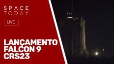 LANÇAMENTO FALCON 9 - CRS23 - AO VIVO