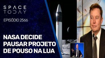 NASA DECIDE PAUSAR PROJETO DE POUSO NA LUA