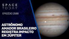ASTR6ONOMO AMADOR BRASILEIRO REGISTRA IMPACTO EM JÚPITER