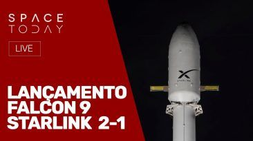 LANÇAMENTO FALCON 9 - STARLINK 2-1 - AO VIVO