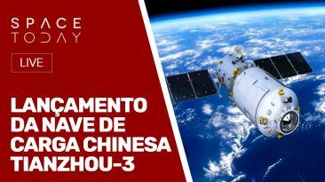 LANÇAMENTO NAVE DE CARGA CHINESA TIANZHOU-3 - AO VIVO