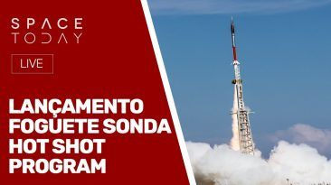 LANÇAMNETO FOGUETE SONDA - HOT SHOT PROGRAM - AO VIVO