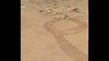 Panorama Marciano Registrado Pela MastcamZ do  Rover Perseverance