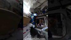 Thomas Pesquet Se Preparando Para Caminhada Espacial