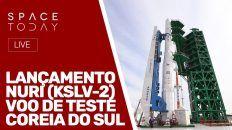 LANÇAMENTO - NURI (KSLV-2) - VOO DE TESTE COREIA DO SUL - AO VIVO